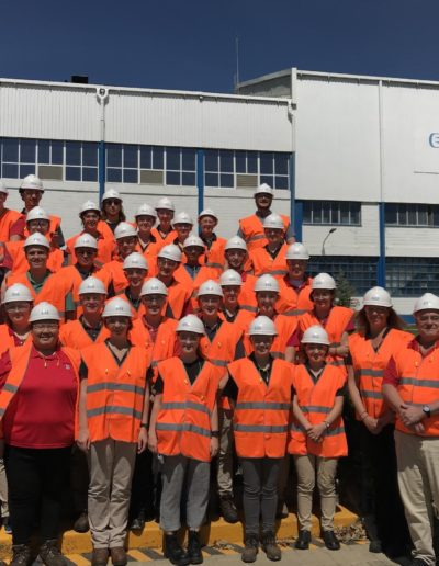 By attending the Paper International Experience in Spain with my peers and faculty in the Department of Forest Biomaterials in May 2019, I was able to witness the papermaking process at six different facilities in another country. I got to see both cutting edge and outdated technology, as well as the opportunity to make meaningful connections and gain knowledge that I can apply to my future career.