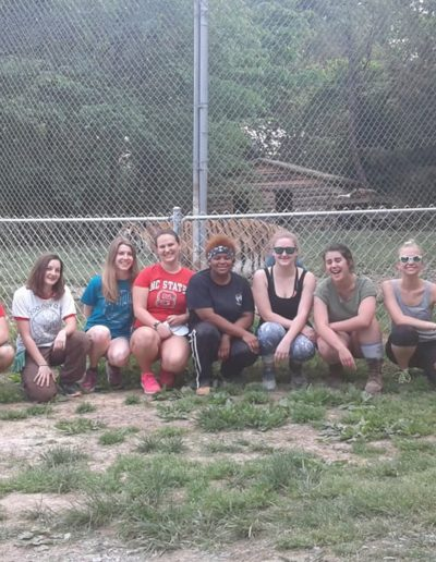 In May 2018, I volunteered at the Carolina Tiger Rescue with the Zoology Club! We helped build habitats just a few feet away from the tigers. This was an awesome experience that gave us a behind-the-scenes look into what goes into an animal rescue facility.