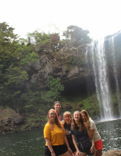 While in New Zealand, I also got to go on multiple trips outside of Auckland. This was at Rainbow Falls during a camping trip with Cat Bruns, Johnny Apmann, Ellie Carr and Maria Kuttunen. I got to see landmarks including the Cape Reinga sand dunes and the northernmost point.
