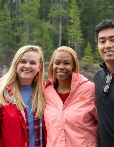 In May 2019, I was a participant on the Goodnight Scholar's Mayventure to Vancouver and the Canadian Rockies. This trip was the first time I ventured west of North Carolina. I had good company as well! Here I am with Erika Debnam '20 and Josh Jimison '20 at Yoho National Park in British Columbia.