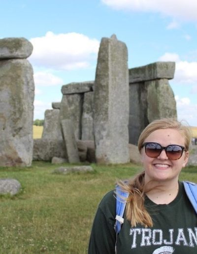 By receiving a Goodnight Scholars enrichment grant for June and July 2017, I was able to study abroad at the University of Oxford in England! Here I am visiting Stonehenge, one of the Wonders of the World.