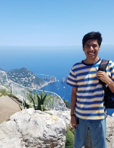 As a part of my study abroad session in summer 2018, I visited Capri, Italy. On this beautiful island, I got to enjoy a boat tour, explore the town and take a lift to the top of the mountain to witness the most breathtaking view I have ever seen!